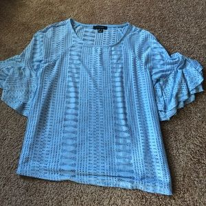 Blue fancy top!